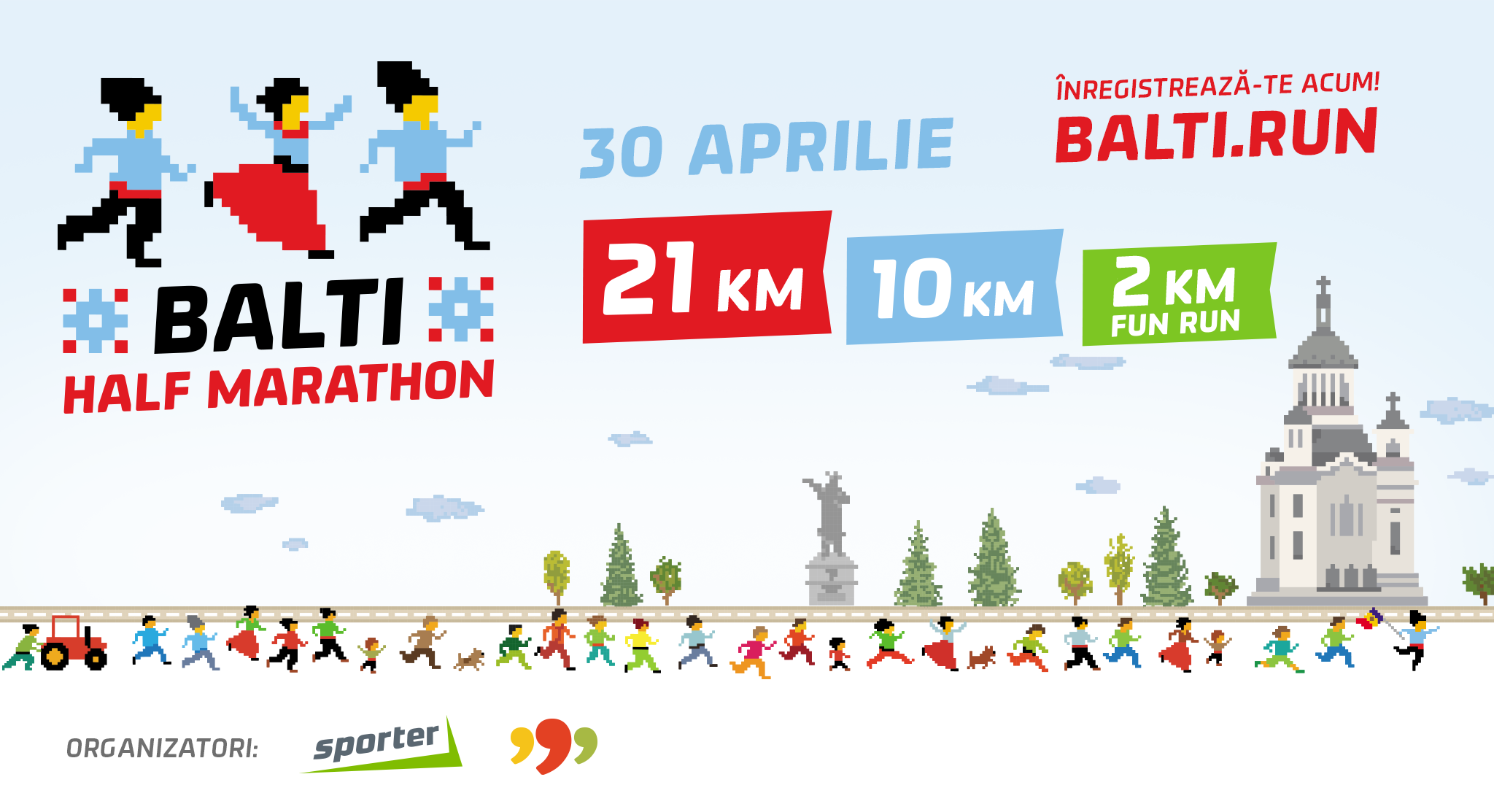 "In Balti will take place the first half marathon ""Balti Half Marathon"""