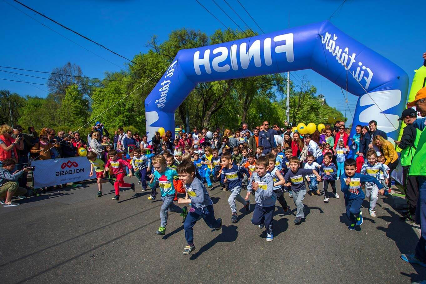 Kids Run Day din Bălți